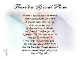 Poems For Comfort Funeral Poem There U0027s A Special Place Funeral Poems For Partner