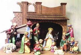 hummel large colored nativity figurines at replacements ltd page 1