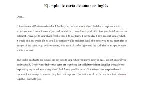 imagenes de amor en ingles español ejemplo de carta de amor en inglés ejemplos de carta