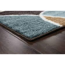 better homes and gardens geo wave textured print nylon area rug ebay