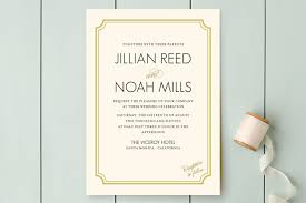 classic wedding invitations modern classic wedding invitations by clark minted