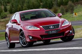 red lexus is 350 lexus is 350 sedan debuts on the australian market