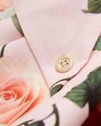 ted baker secret trellis skinny scarf in pink lyst