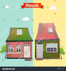 House Beautiful Com by Different Variants House Beautiful European Houses Stock Vector