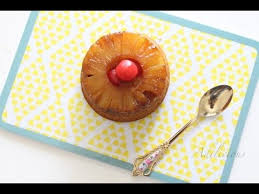 pineapple upside down mini cakes eggless youtube