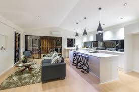 stunning contemporary brisbane kitchen just wardrobes u0026 storage