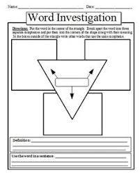 68 best vocabulary images on pinterest teaching vocabulary