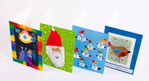 christmas cards ks2 chrismast cards ideas