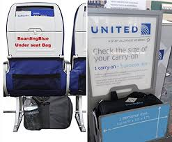 united airlines how many bags boardingblue new united airlines rolling free personal item under