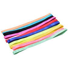 headbands sports 1pc sports headband sport anti slip elastic rubber sweatband