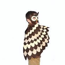Girls Owl Halloween Costume Kids Owl Costume Children Bird Wings Mask Dress Toy Owl