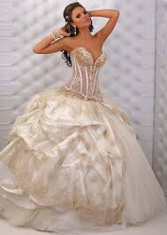 white wedding dresses gold and white wedding dresses weddingcafeny