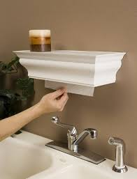 kitchen towel holder ideas 36 genius ways to hide the eyesores in your home paper towels
