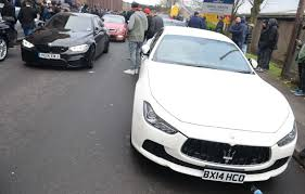 rose gold maserati car supercars galore at birmingham gumball get together the car