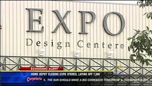 home depot expo design stores home depot closing expo stores laying off 7 000 employees cbs