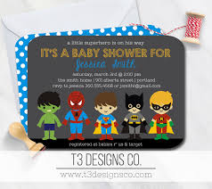 superhero baby shower invitationsuper hero baby shower