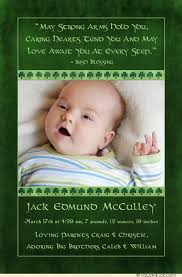 birth announcement wording boy birth announcement photo green
