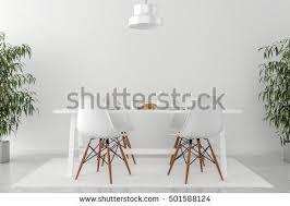 kitchen table chairs 3d illustration stock illustration 501588124