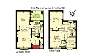 The Red Cottage Floor Plans by The Red Brick House U2013 A 17 95 Million Historic Home In London