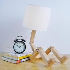 Schlafzimmer Lampe Holz Mjel Nordic Studie Nachttisch Lampe Schlafzimmer Massivholz