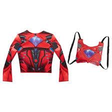 power rangers deluxe red ranger dress target