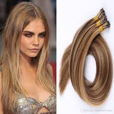 Pre Bonded Human Hair Extensions Uk by Cheap 1g S 100g Human Hair Ash Brown Platinum Blonde Straight