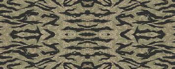 tiger stripe camo fabric ricraynor spoonflower