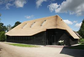 buildings that know how to make a thatched roof look modern