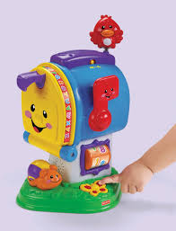 Fisher Price Toy Box New Fisher Price Laugh U0026amp Learn Learning Letters Mailbox