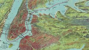 New York City Map Vintage New York City Map 1909 Musical Preview Youtube