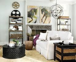 Orb Chandelier Living Room Contemporary Living Room Atlanta - Ballard designs living room