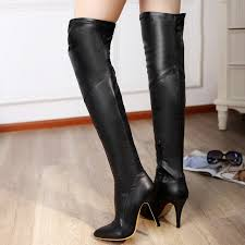 womens wedge boots size 12 shoe n tale autumn winter boots the knee high boots