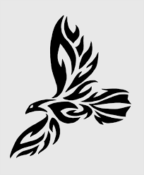 how to draw eagle tribal tattoos how to draw tribal by drawing