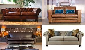 Darlings Of Chelsea Homes And Antiques - Chelsea leather sofa