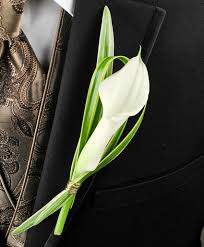 calla boutonniere calla boutonniere corsages boutonnieres gallery