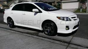 toyota corolla with rims rota grid wheels on 2011 toyota corolla wheeldude com