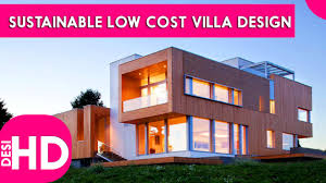 villa design how to become architect ᴴᴰ sustainable low cost villa design