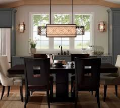 Kitchen Dining Room Light Fixtures Stunning Rectangular Hanging L Dining Room Lighting Fixtures
