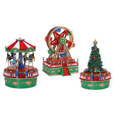 mr christmas mr christmas assorted mini carnival musical figurines lowe s canada