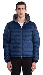 canada goose lodge hoody navy mens p 31 canada goose lodge hoody in spirit discontinued revolve
