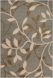 Lowes Area Rugs 8x10 by Amazon Com 4 U0027 X 5 5 U0027 Flourishing Flowers Gray Mocha Brown And