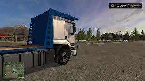 renault truck wallpaper renault bale truck v1 fs17