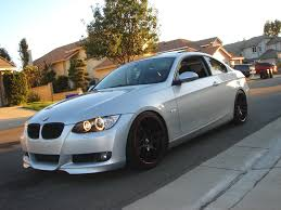 2007 bmw 328i silver ppic request silver e92 with csl wheels drop