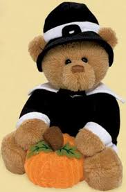 cuddly collectibles bears to celebrate thanksgiving