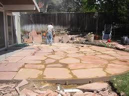 Granite Patio Pavers Flagstone Set In Decomposed Granite Search Yard