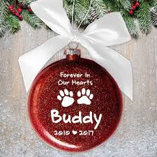 memorial personalized tree ornament