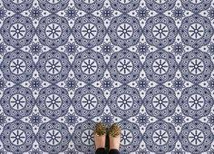vintage abstract pattern flooring floor design concave and