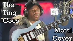 Djent Meme - the ting goes djent big shaq michael dapaah metal cover youtube
