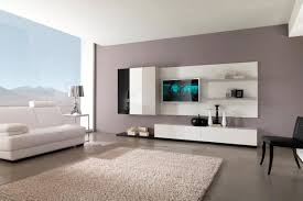cool living room paint ideas white varnished wooden tv cabinet
