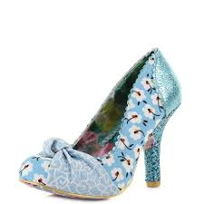 wedding shoes irregular choice irregular choice womens irregular choice smartie blue floral